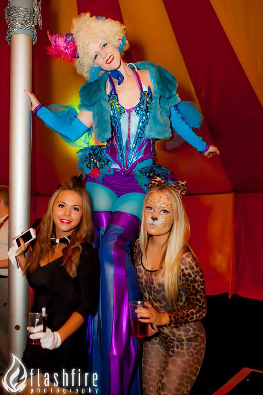 Circus Belles Blue
