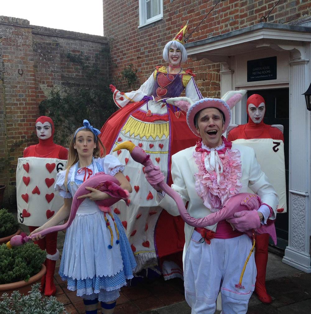Alice in Wonderland actors