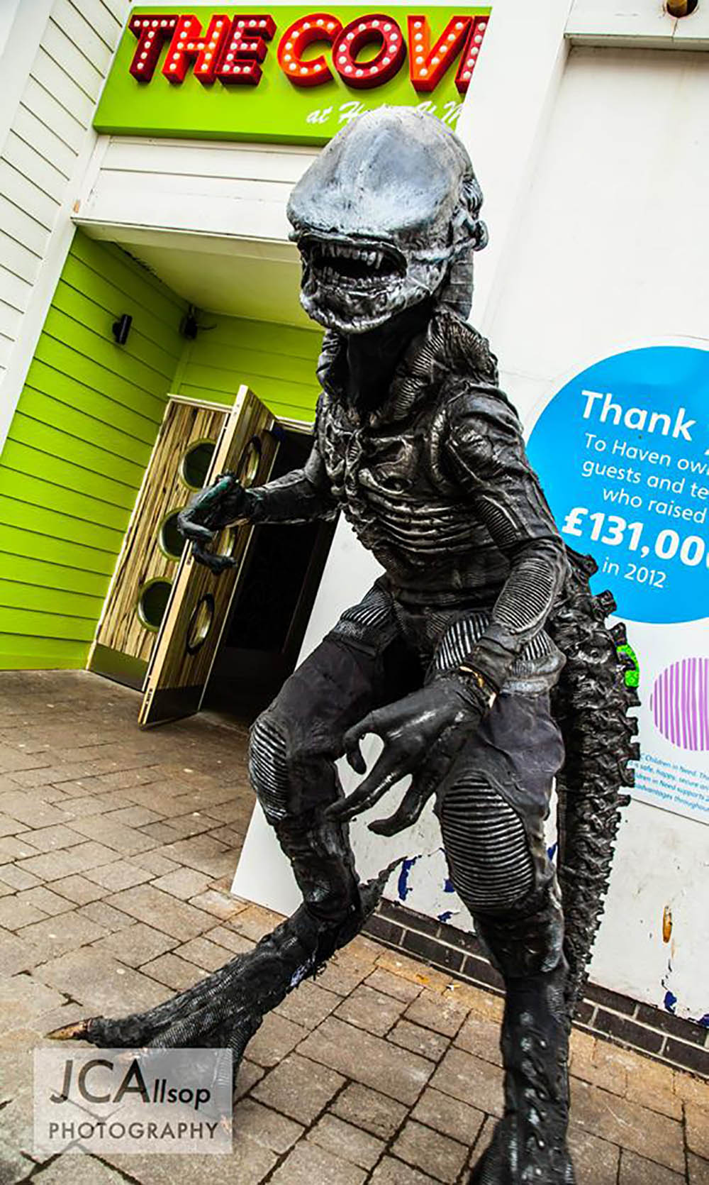 alien actor for events