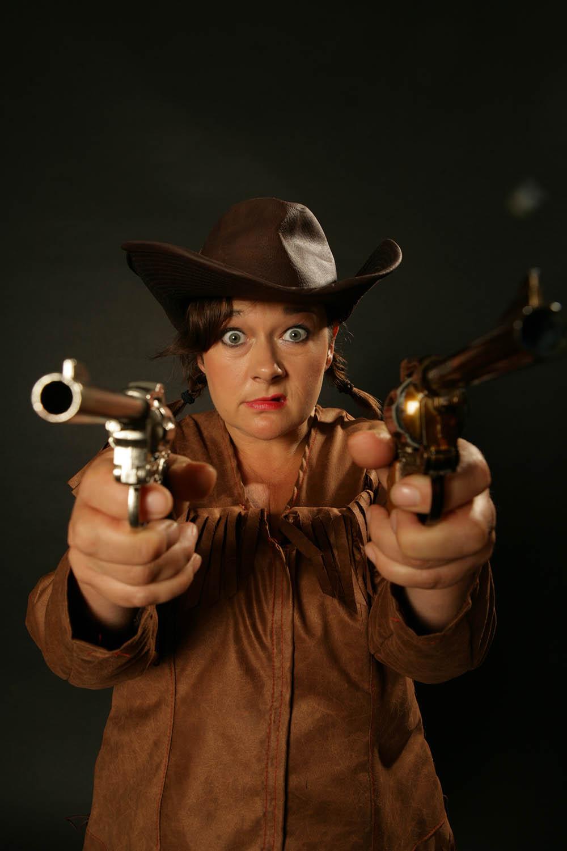 Wild West performer