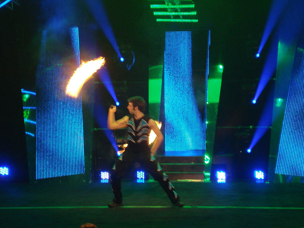 Fire costume