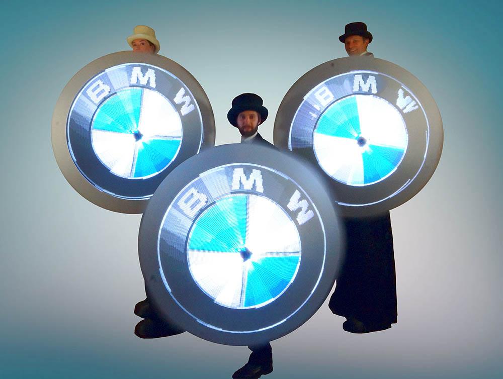 Glow Umbrellas - BMW