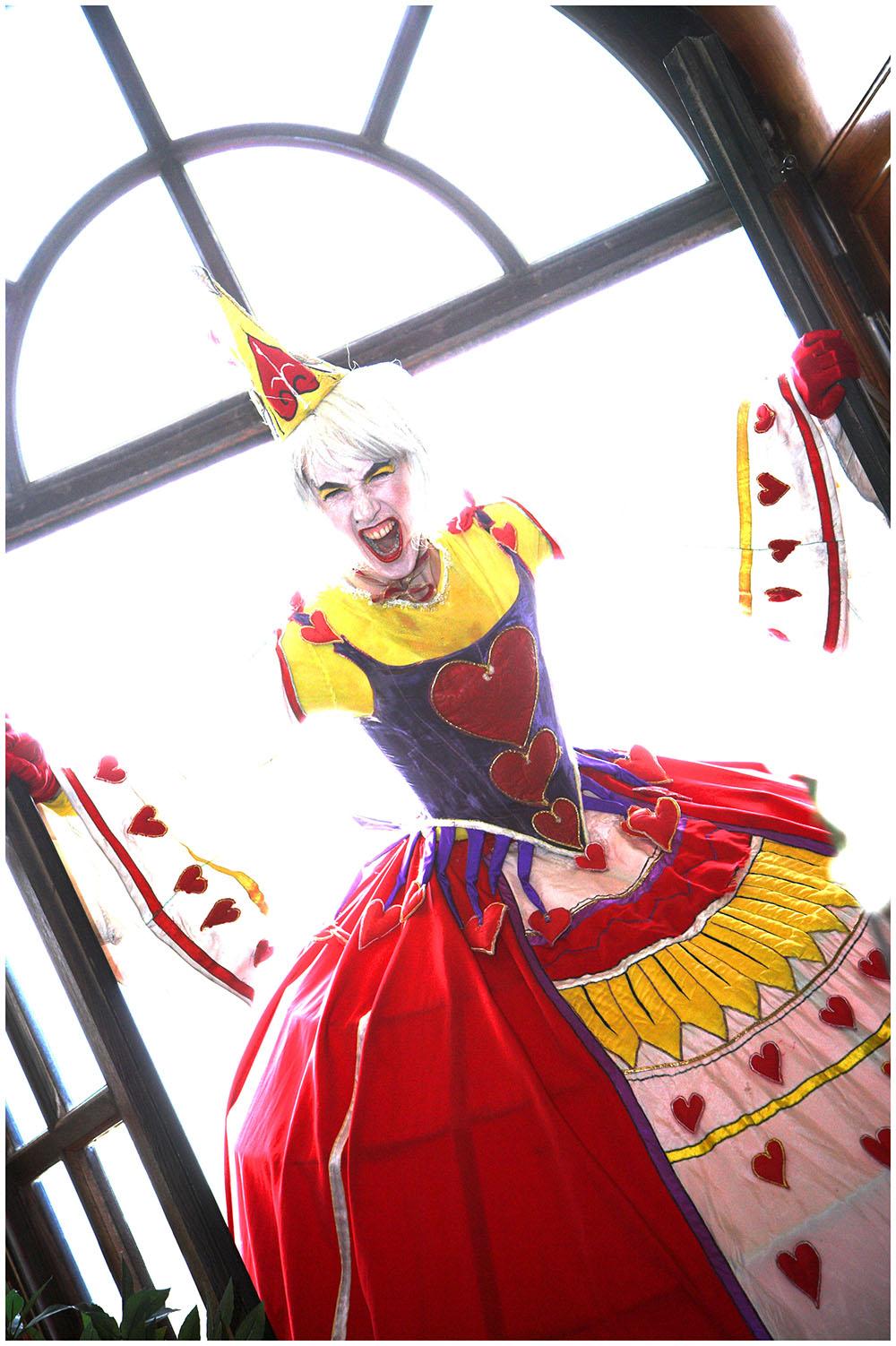 Queen Alice in Wonderland