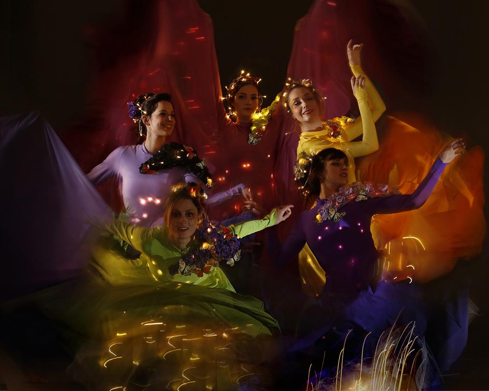 Light Emitting Dance and Optioscopes, Enchanted