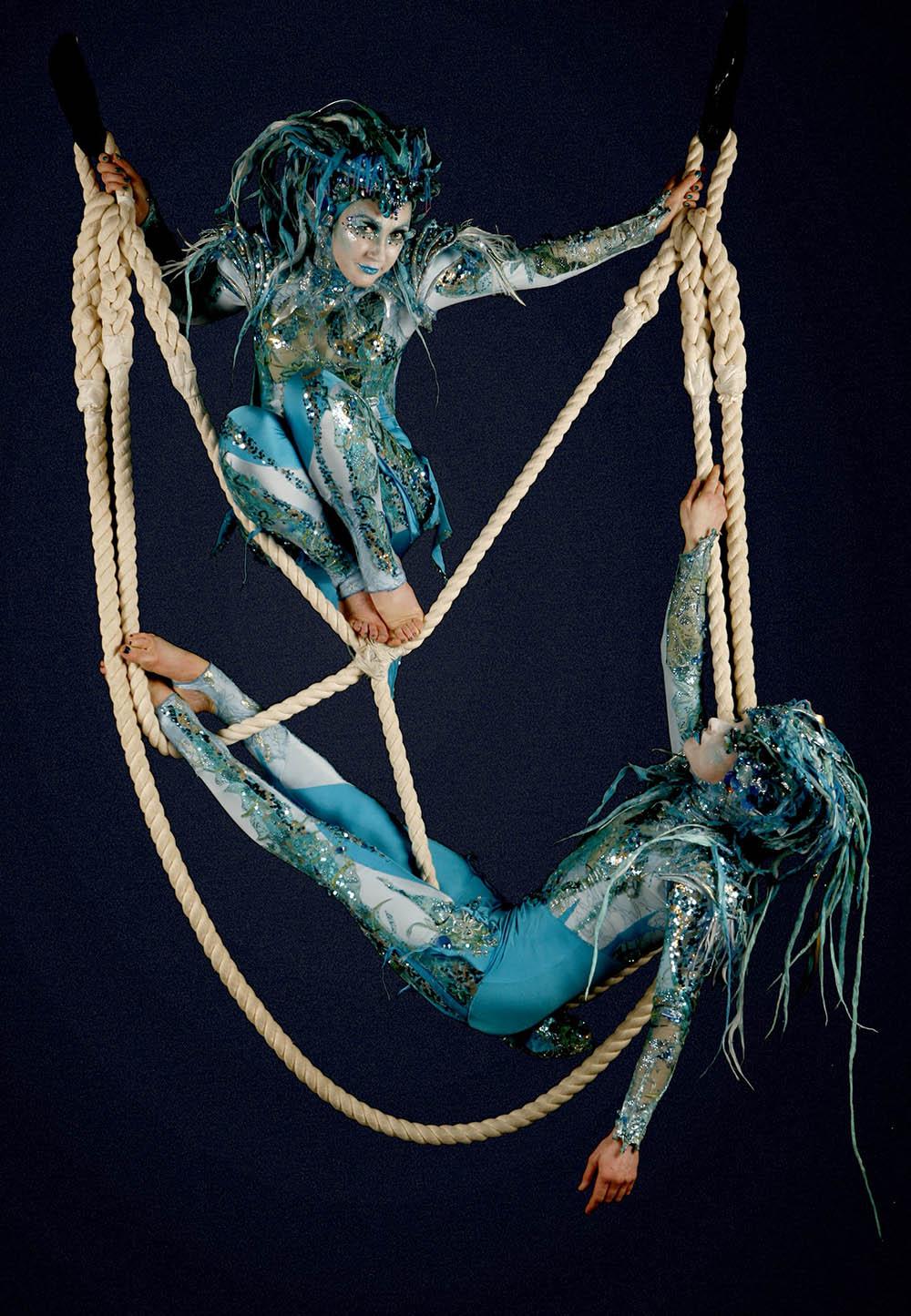 Mermaidens aerialist