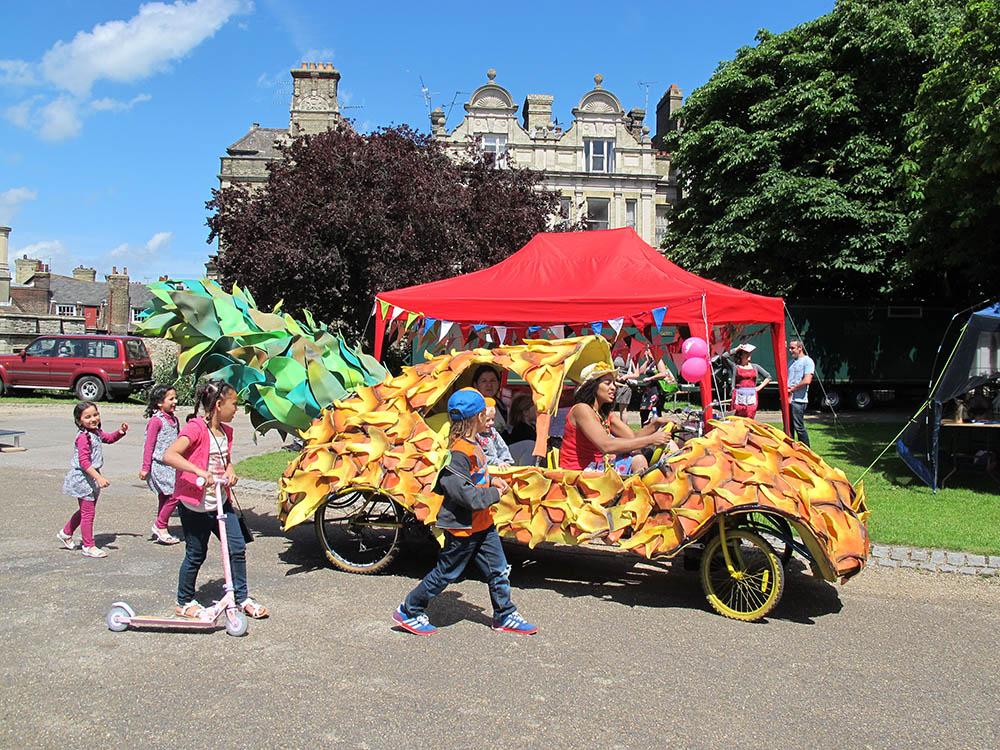 Pineapple Car
