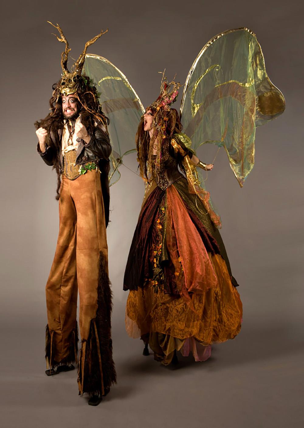 The Dream Oberon and Titania