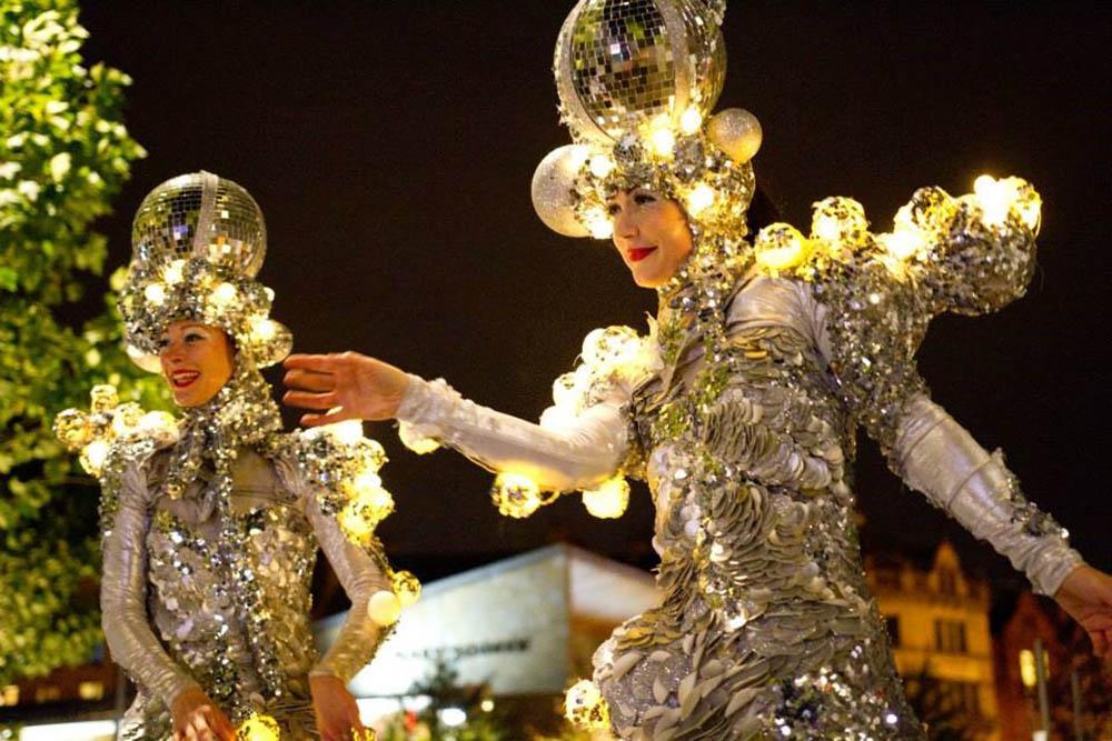 gold glitterbelles