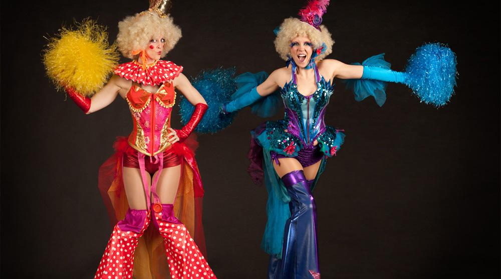 Circus Belles performers