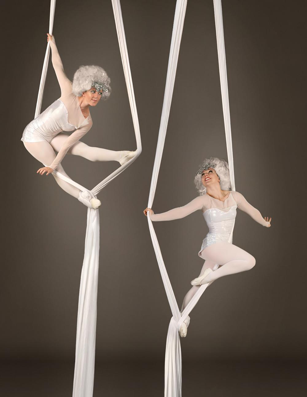 Silk aerial