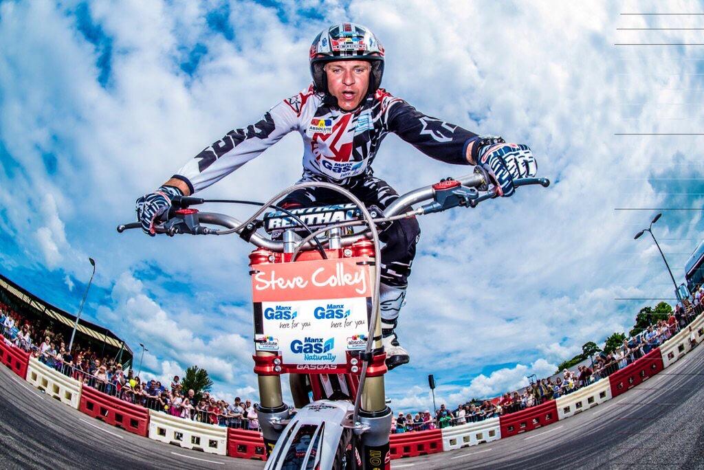 Steve Colley Motorbiker