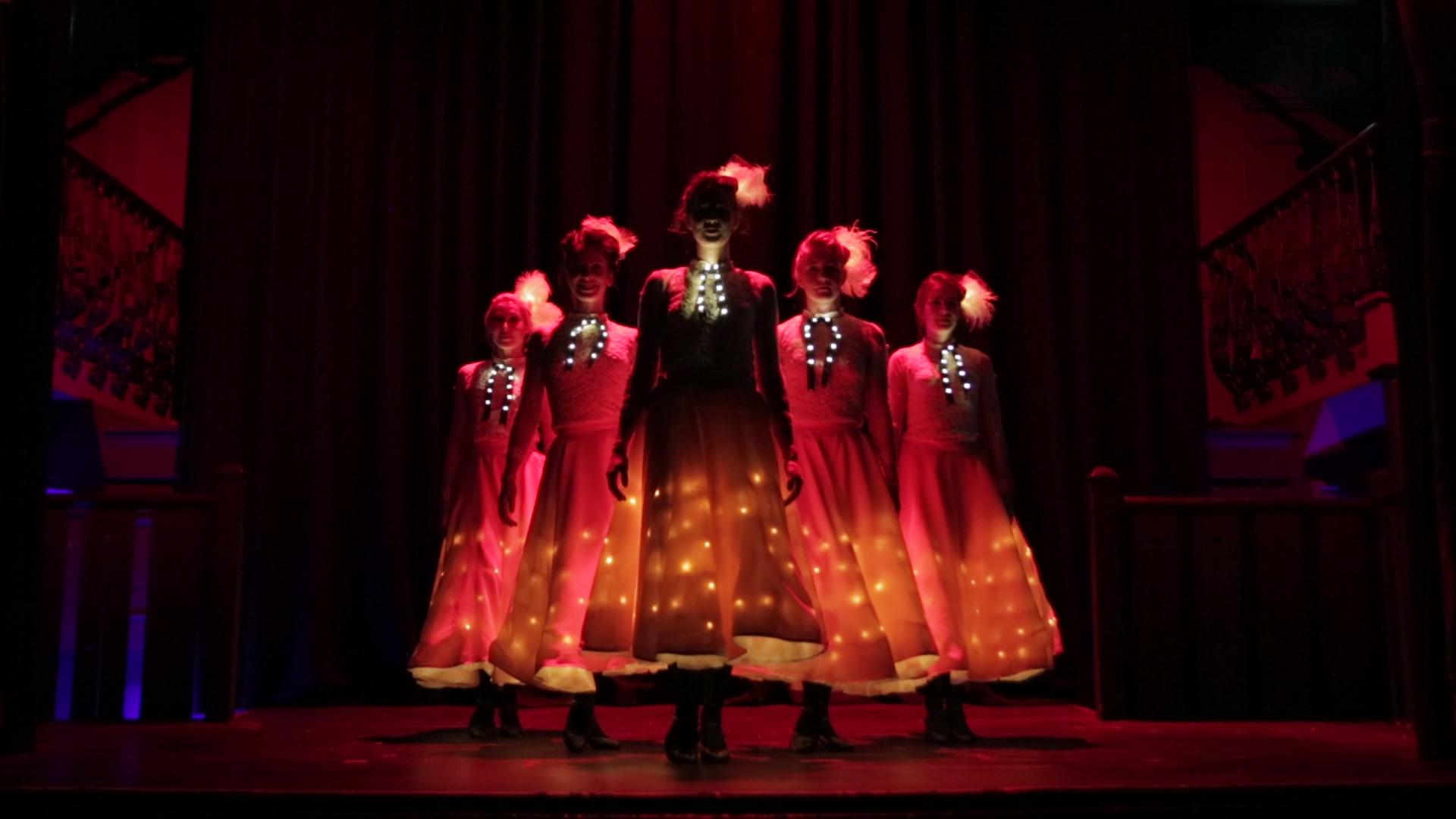 Glow dresses