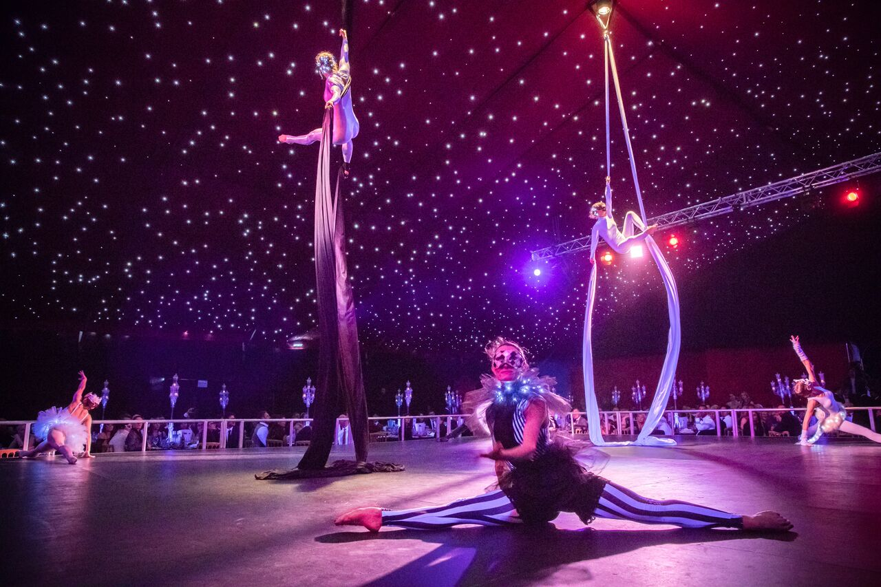 Masquerademask performer events splits