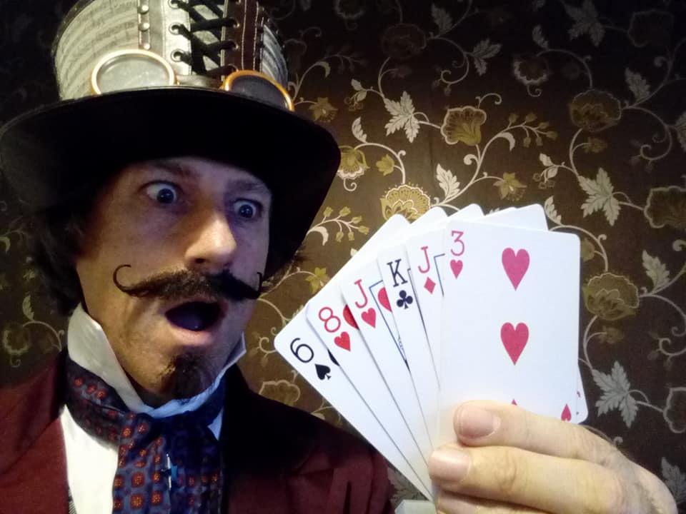 magician comedy entertainer circus balloon magic